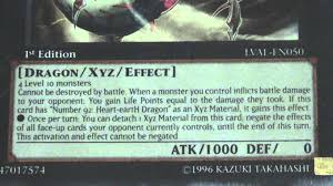 yugioh number c92 heart earth chaos dragon card review read