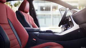 lexus nx black red interior 2018 lexus nx luxury crossover lexus com