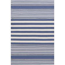 beckham stripe denim indoor outdoor rug dash u0026 albert