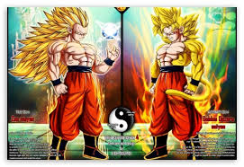 dragonball ssj4 forms hd desktop wallpaper