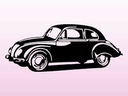 vintage cars clipart classic car clipart vector art pencil and in color classic car