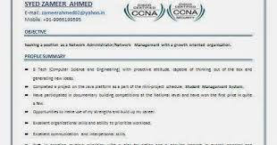 Resume Samples For Network Engineer by Sweet Ideas Ccna Resume 7 Network Engineer Resume Template 9 Free