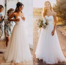 discount simple country style wedding dresses 2017 sweetheart lace