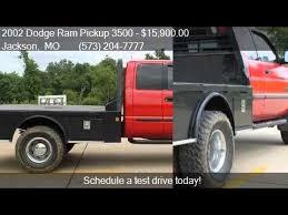 dodge ram 3500 flatbed 2002 dodge ram 3500 flatbed drw for sale in jackson