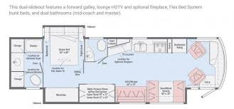 2 bedroom floorplans 12 must see bunkhouse rv floorplans welcome to the general rv