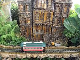 Train Show Botanical Garden by Model Trains Model Buildings New York Botanical Garden Holiday