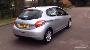 peugeot silver peugeot 208 active aluminium silver 2014 youtube