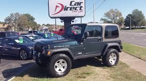 jeep usa 2006 jeep wrangler rubicon 4x4 carfax certified premium wheels