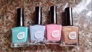 dollar tree kiss gel nail polish review may 31 2017 youtube