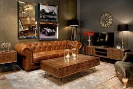 how to style your black leather chesterfield sofa modish living