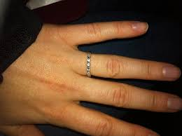 delicate wedding bands just found my wedding band i m so excited pics weddingbee
