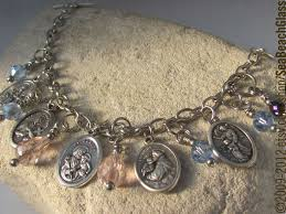 battle saints bracelets fertility jewelry gerard patron of conception