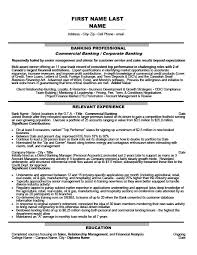 Resume Templates For Banking Commercial Banking Corporate Banking Resume Template Premium