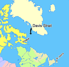 davis map map davis strait