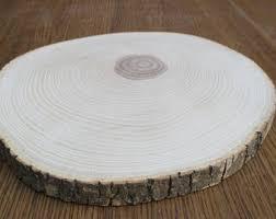 tree slices etsy