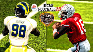 thanksgiving college football ncaa football 15 xb360 60fps michigan at ohio state