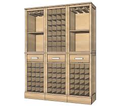 diy wine cabinet plans 13 free diy wine rack plans you can build today wine rack cabinet