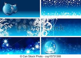 clip art vector of christmas and new year greeting card templates