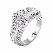 vancaro engagement rings modern two engagement ring with angel wing inspired vancaro