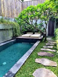 Garden Pool Ideas Small Back Garden Landscape Ideas With Simple Small Swimming Pool