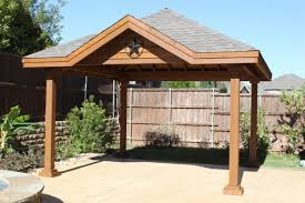 How To Build A Freestanding Patio Roof by Patio Cover Installation Fence Max Texas