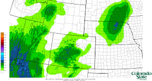 Colorado Weather Forecast Map by Real Time Weather Data Precipitation Systems Research Group