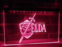 aliexpress com buy lh040 legend zelda video game led neon