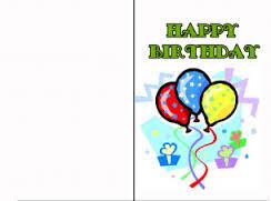 birthday card beautiful printable birthday card template free