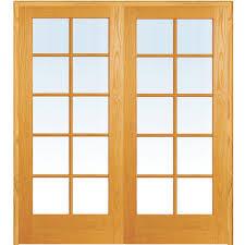 mmi door 61 5 in x 81 75 in classic clear glass 10 lite true