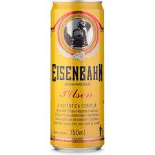 Preferidos Cerveja Eisenbahn Pilsen Lata 350ml - Costi Bebidas - CostiBebidas &XU54