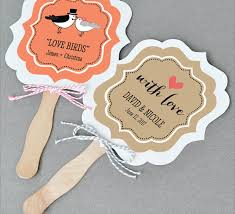 paper fans for weddings wedding fan personalized fan wooden paddle fan wedding favor