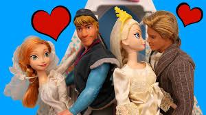 frozen wedding elsa marries prince felix anna wedding