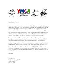 request for sponsorship letter sample