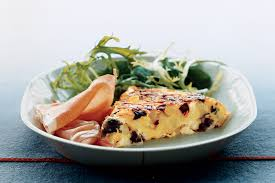 boursin cuisine light potato and boursin frittata recipe epicurious com