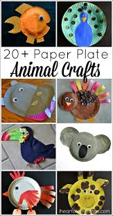 20 paper plate animal crafts for kids paper plate crafts