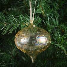 morrisons morrisons gold glass baubles 2 per pack product