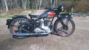 ariel 500 500 red hunter 500 cm 1939 helsinki motorcycle