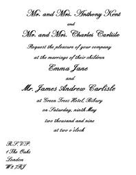 Wedding Invite Verbiage Wedding Invitation Wording Etiquette Wedding Corners