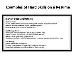 Skills For A Job Resume Job Search Presentation