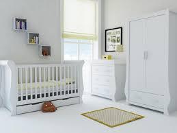White Sleigh Cot Bed Babystyle Hollie Sleigh Furniture Set U2013 Fresh White U2013 Free