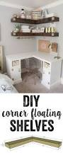 How To Decorate Floating Shelves Stylish Floating Shelves For Adorable Look Of Your Home