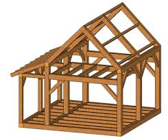 small a frame cabin kits timber frame kits kennebec timber framing