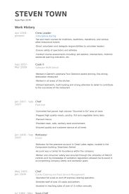 Catering Resume Samples by Crew Leader Resume Samples Visualcv Resume Samples Database