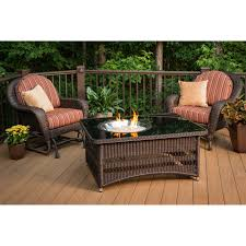 Patio Dining Sets With Fire Pits - outdoor greatroom naples fire pit table walmart com