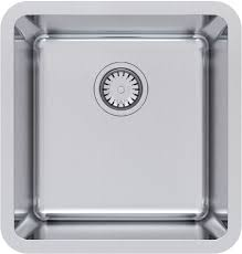 Abey Kitchen Sinks Abey Lago Single Bowl Undermount Sink With Drainer Tray From