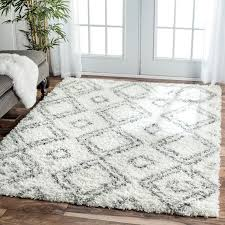Modern Shag Area Rugs Amazing Area Rug Modern Rugs Hearth In Fluffy For Attractive