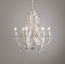 White Small Chandelier Small Chandelier Rustic White