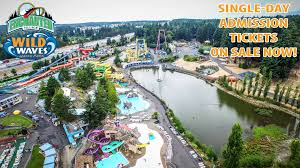 How Much Is A Six Flags Ticket At The Gate Wild Waves Theme Park Coupons And Discount Tickets 2017