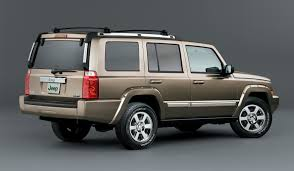 jeep commander station wagon 2006 2009 features equipment and