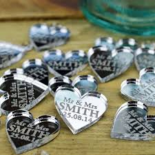 wedding table centerpieces wedding favours 2cm personalised
